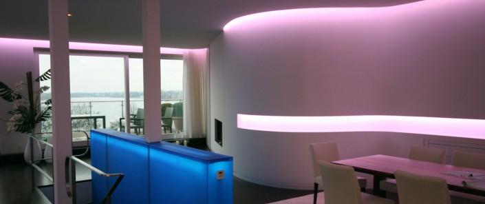Architektur Leuchtpanele Schreib+Keppler Lichtkunst Hamburg Lichtwerbung Beleuchtungskonzepte