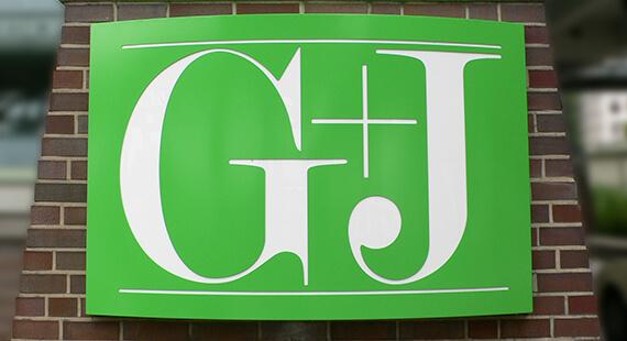 Gruner+Jahr Headquarter Lichtwerbung Hamburg Schreib+Keppler Lichtwerbeanlage Außenwerbung Leuchtreklame