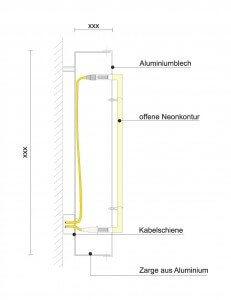 Profilbuchstabe - Profil 1