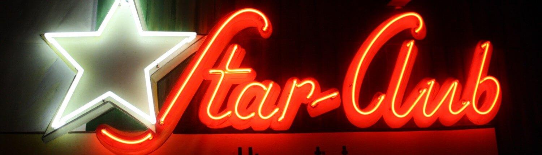 Star Club Lichtwerbung Hamburg Schreib+Keppler, Lüneburg, Lichtwerbeanalagen, Lichtreklame, Leuchtreklame Außenwerbung Profilbuchstaben