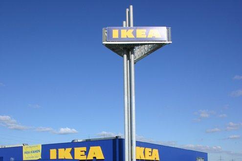 IKEA Werbetürme Schreb+Keppler Lichtwerbung Hamburg Deutschland Werbemasten Großwerbeanlagen international