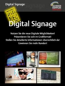 Schreib+Keppler Lichtwerbung Hamburg Digital Signage