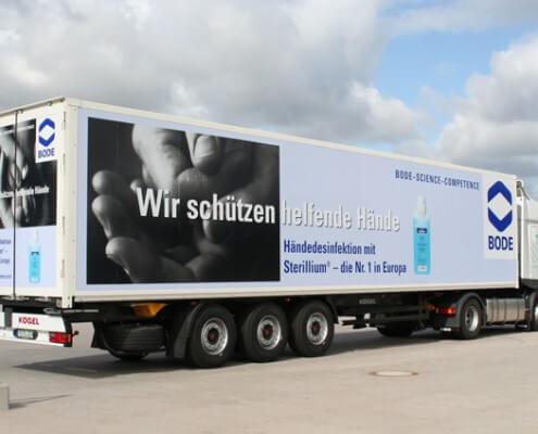 Außenwerbung Hamburg Schreib+Keppler Fahrzeugbeschriftung Flottenbeschriftung LKW-Beschriftung
