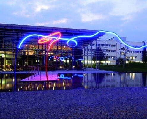 Lichtwerbung Hamburg Schreib+Keppler Lichtarchtektur Lichtkunst