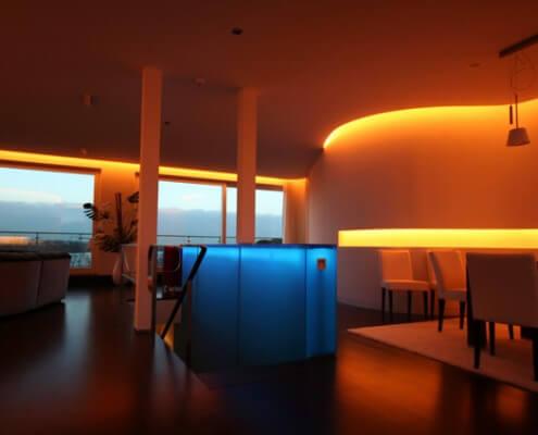 Lichtwerbung Hamburg Schreib+Keppler Lichtarchitektur Lichtkunst Leuchtkästen