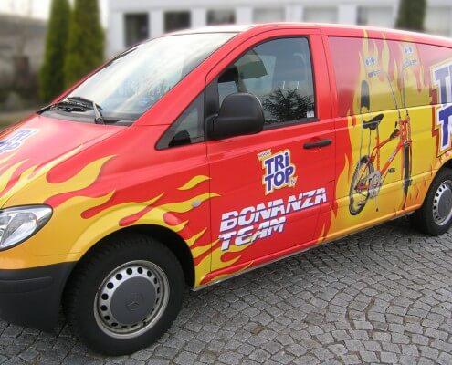Außenwerbung Hamburg Schreib+Keppler Fahrzeugbeschriftung Folienbeschriftung