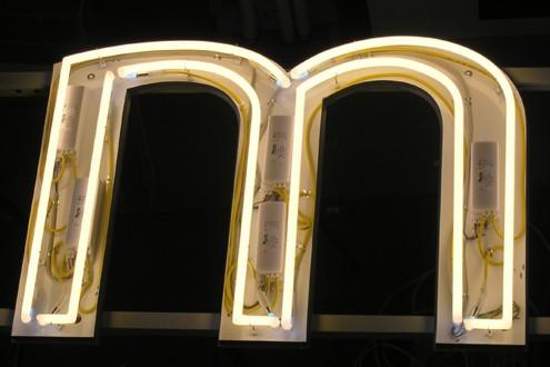 Neonröhren Schreib+Keppler Lichtwerbung Hamburg Montage Produktion Technik