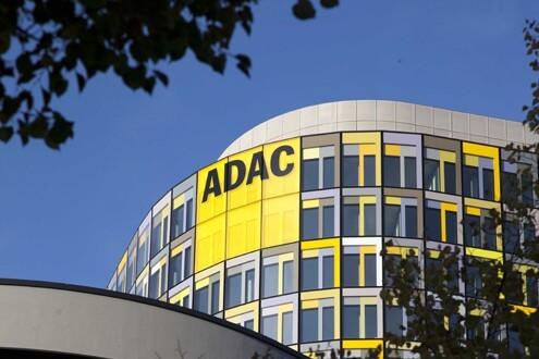 ADAC München Headquarter Lichtwerbung Hamburg Schreib+Keppler, Europa Lichtwerbeanlagen, Lichtreklame, Leuchtreklame Außenwerbung Schilder Wegeleitsystem