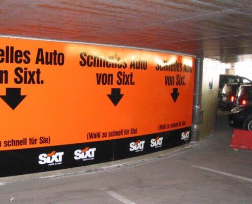 Parkleitsysteme Lichtwerbung Hamburg Schreib+Keppler, Europa Lichtwerbeanlagen, Lichtreklame, Leuchtreklame Außenwerbung Schilder Wegeleitsystem