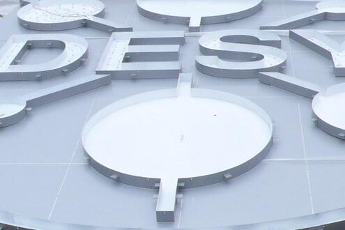DESY Lichtwerbung Hamburg Schreib+Keppler, Lüneburg, Lichtwerbeanalagen, Lichtreklame, Leuchtreklame Außenwerbung Profilbuchstaben