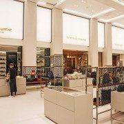 Luxuskaufhaus, Kaufhaus Lichtwerbung Schreib+Keppler, Lüneburg, Lichtwerbeanlagen, Lichtreklame, Leuchtreklame Außenwerbung Lichtkasten Leuchtkasten Shopkonzept