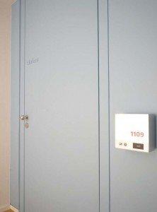 Die Zimmernummern sind jetzt als homogenes Flächenlicht gestaltet